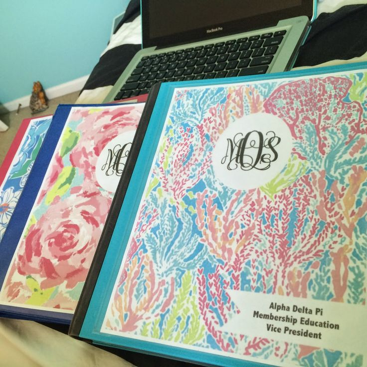 8 Best Binder Covers Images On Pinterest