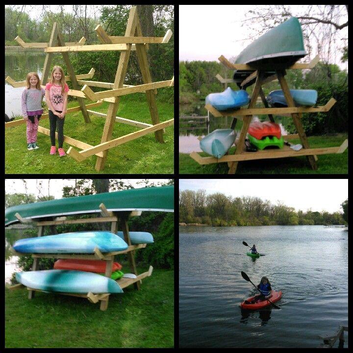 14a5f57d7db6afcd4567d386acf8cf7a canoe and kayak kayak rack