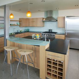 Photo Of White Contemporary Kitchen Project In Tacoma WA By Signature Design Cabinetry