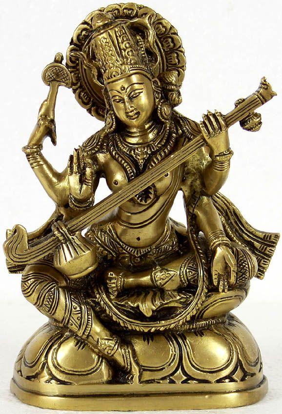 goddess of Knowledge saraswati