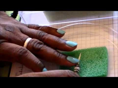Glazing Paper Beads. (THE EASY WAY!!!). - YouTube