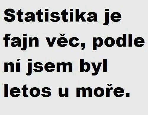 Obrázky - Víte k čemu je statistika? - Zábavnej.cz