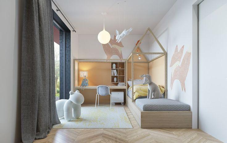 Lad dig inspirere af disse fem fantastiske børneværelse, hvor man har leget med både farver og plads i rummene. Måske kan du få et par idéer til ungernes værelser derhjemme.