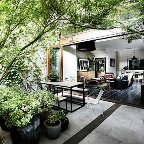 Cool outdoor space outdoor spaces pinterest indoor Indoor outdoor interior design