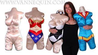 body pillow craft kits vannequinbodyform.blogspot.com www.vannequin.com
