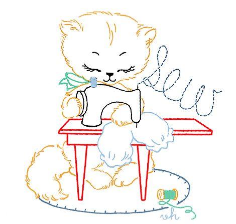 7 Little Kitty task patterns | Pattern Bee Buzz