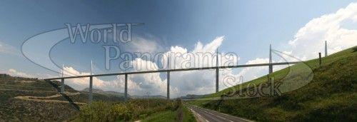 Millau Viaduct Bridge in France