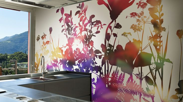 Bring the outside, in! With Glamora wallpapers from Italy. GL 5133A - Carta Parati Creative Wallcoverings