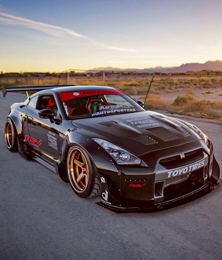 #Nissan GTR Rocket Bunny www.asautoparts.com