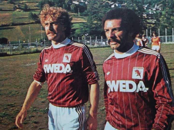Walter Schachner e Leo Junior