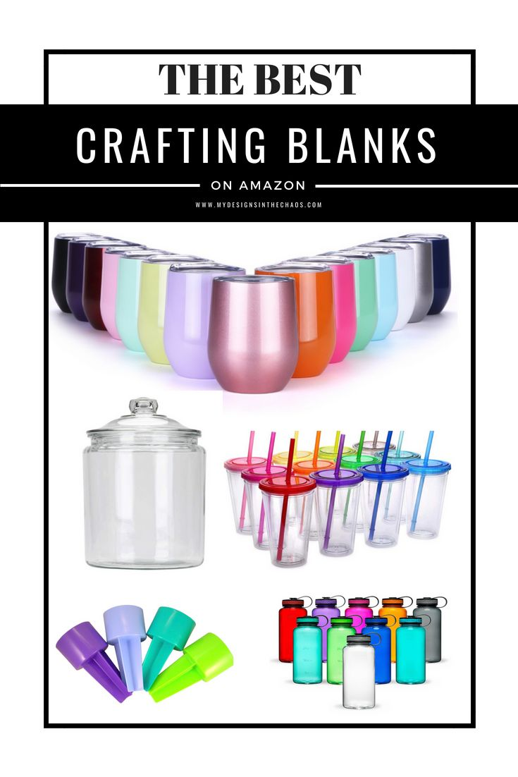 DIY Craft: Craft Blanks | Silhouette | Cricut | #silhouette #cricut #makersgonnamake