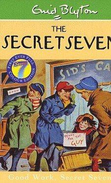Enid Blyton #Vintage The Secret Seven #Books www.newpublisherhouse.com