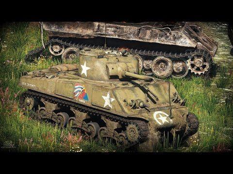 WarThunder-Gameplay Sherman M4