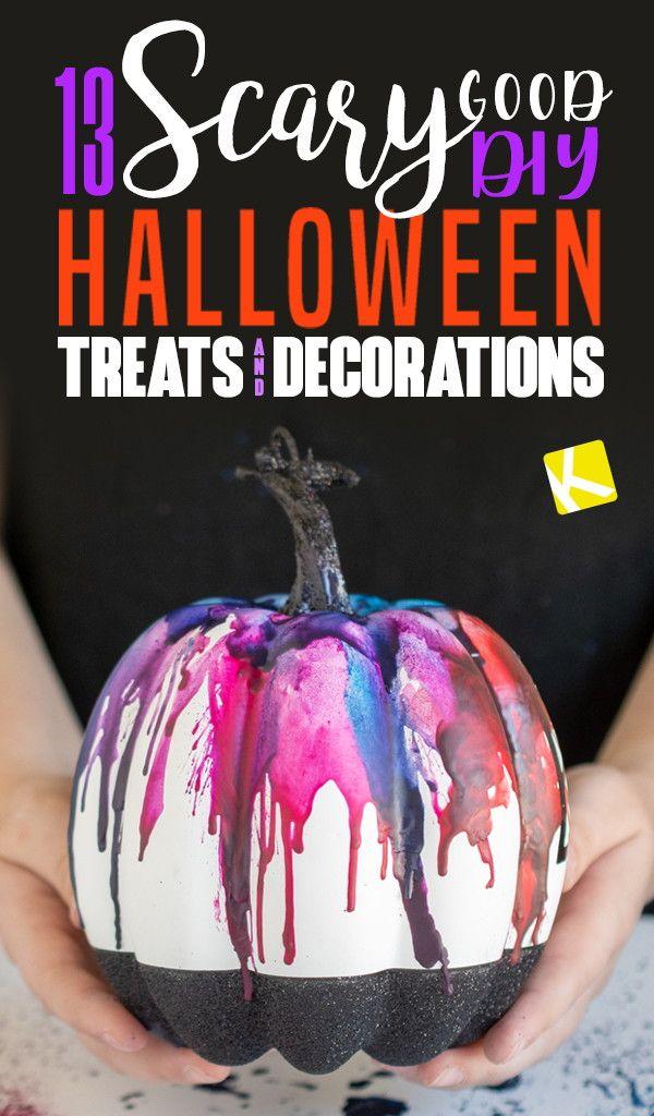 13 Scary Good DIY Halloween Decorations Halloween Pinterest - scary diy halloween decorations