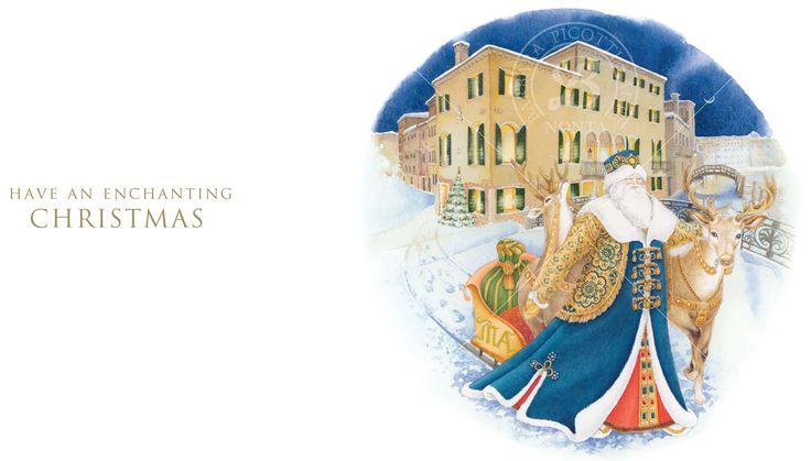 Barbara Picotti Arte: Greetings card illustration. Client: Cà Maria Adele - Venice - Italy. Illustration: Barbara Picotti. Artwork: Nicoletta Zattra