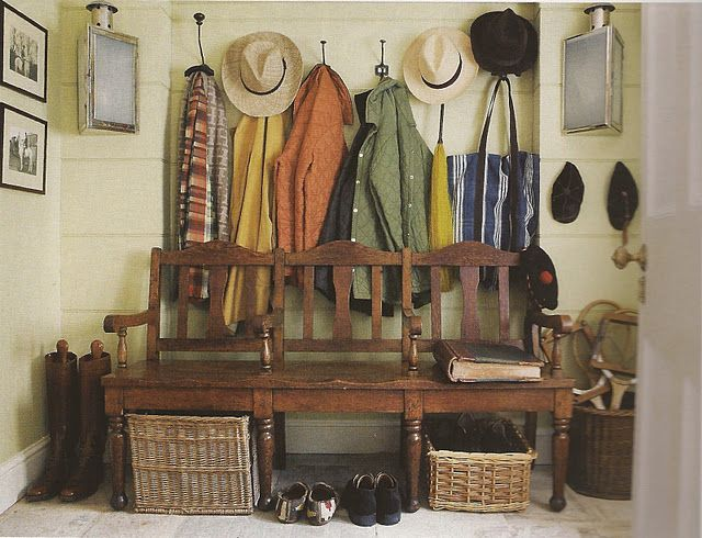 Country House Mud Room