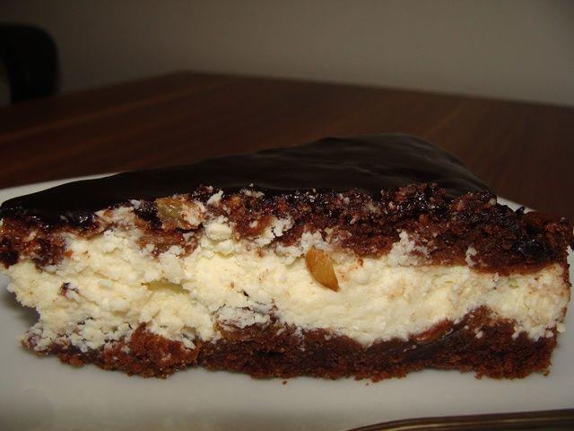 Pasca poloneza cu glazura de ciocolata ~ Bucataria Irinei...