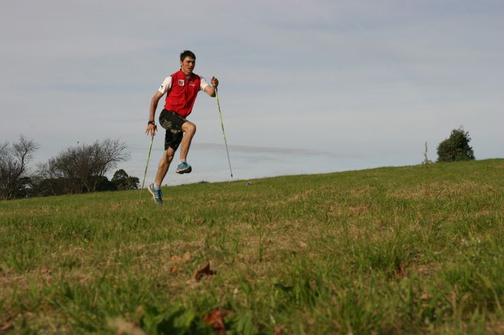 Nordic Striding - Balthasar Schneider on his visit, invited by Nordic Academy www.nordicacademy.com.au
