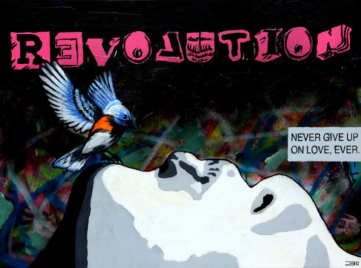 "Eduardo Bessa Rodrigues; Mixed Media, 2012, Painting ""Recycle Revolution"""