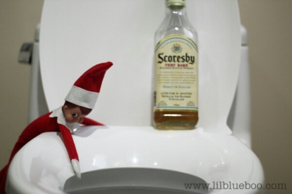 Elf on a Shelf.. for adult's amusement :)