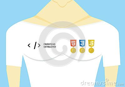 Front End Developer Vector Illustration - Download From Over 42 Million High Quality Stock Photos, Images, Vectors. Sign up for FREE today. Image: 70047654