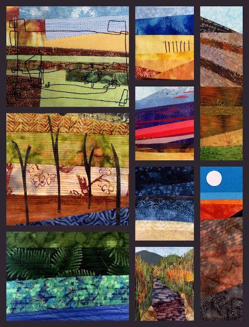 landscape quilts. Deborah OHare