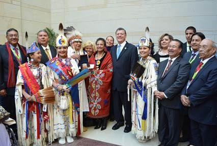 American Indian Congressman Tom Cole's Memorial Day Message