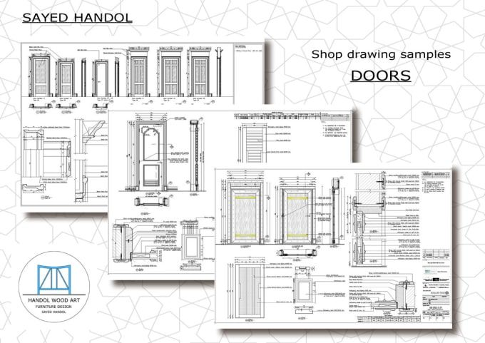 Prepare Custom Architectural Millwork Joinery Shop Drawing With Images Millwork Interior Architecture Design Architecture