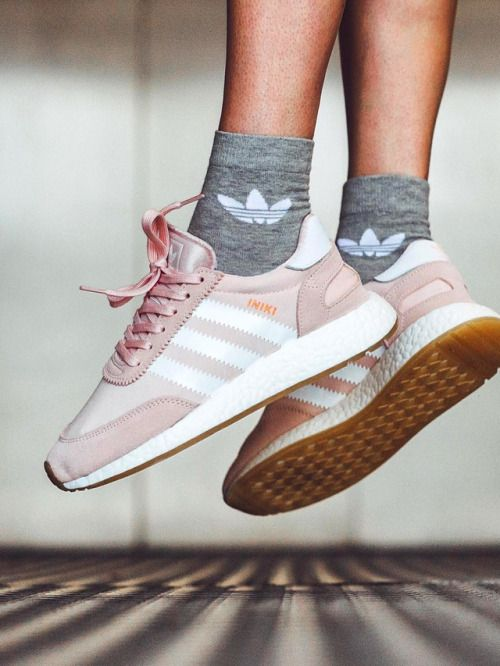 Adidas Iniki Runner Boost - Pink/White - 2017 (by...