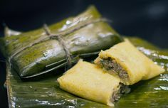 Pastelles - featured in our Caribbean Food Delights 2013 calendar cookbook for the month of May