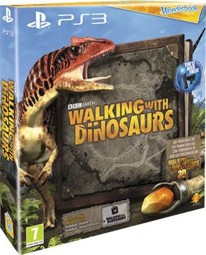 WOLKING     WITH    DINSAURS          TOYS    book | Wonderbook: Walking with Dinosaurs Move Bundel 598540