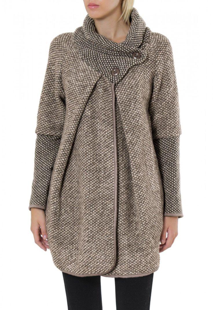 CASPAR Damen warme Winter Jacke / Strickjacke / Cardigan ...