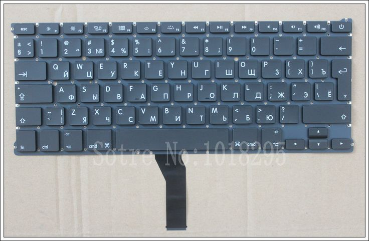 "NEW RU Keyboard For Macbook Air 13"" A1466 A1369 Russian Laptop keyboard MD231 MD232 MC503 MC504 2011-15 Years"