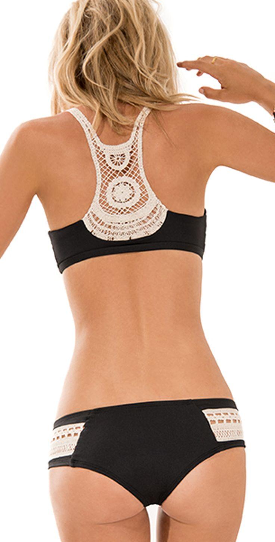 L Space 2014 L*Novelties Black Wild Child Bikini | Southbeachswimsuits