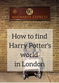 London is a great place for Harry Potter fans - there are locations across the city which are mentioned in J.K.Rowling's books, appear in the films, or both. Click through for details of how and where to find Harry Potter's world in London, including the