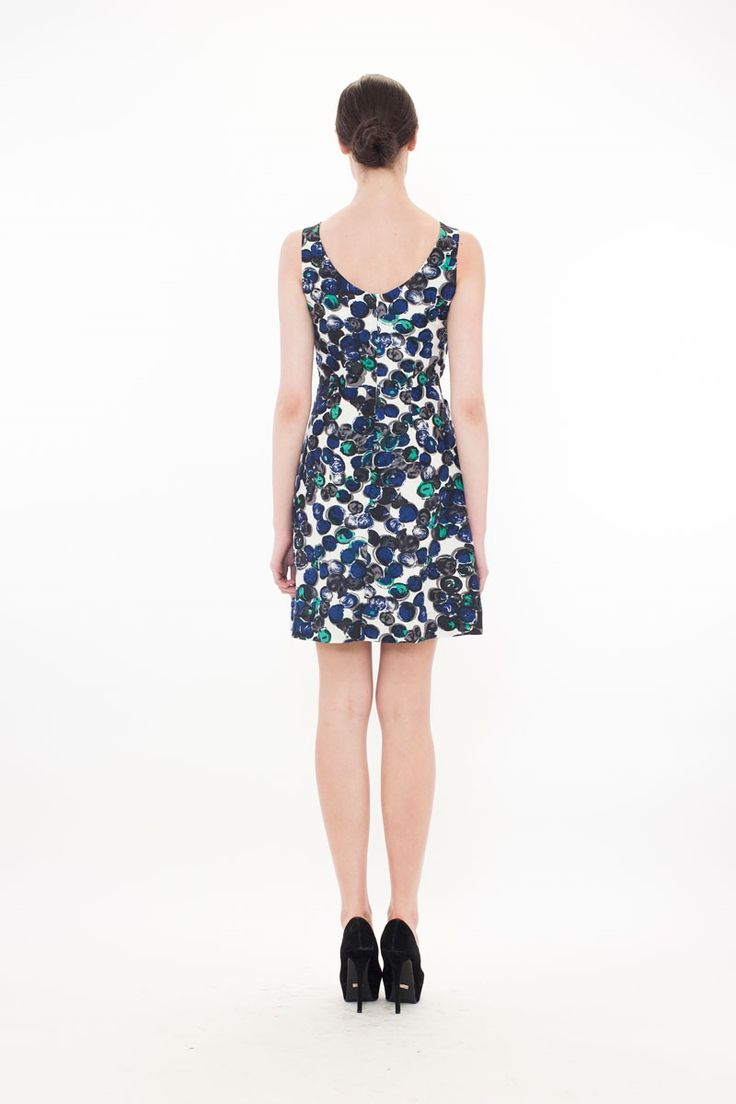 THE CIDER HOUSE BOWS Dress - RIVERSTONE BOARDROOM SP14 : Boardroom-New In : Trelise Cooper Online