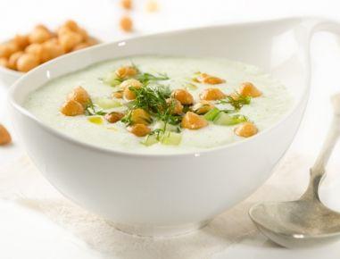 Kalte Gurken-Buttermilch-Suppe - Rezept