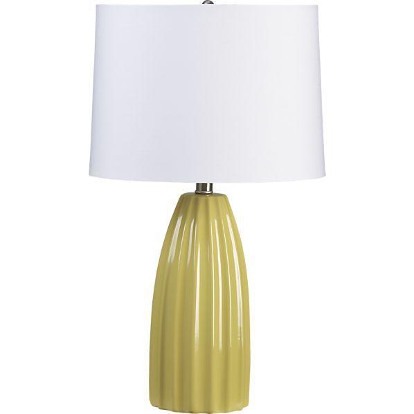 Ella Yellow Table Lampe