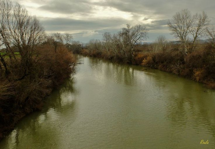 Calm river.... by Roula Lekka