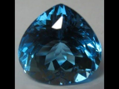 Batu Permata Natural Topaz Swiss Blue Pear Cut 5.36 Carat.  Cocok untuk dijadikan hiasan utama Cincin dan Liontin exclusive. Info: http://goo.gl/YF4NLS