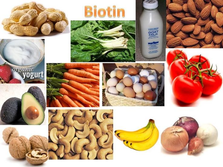Foods That Naturally Contain Biotin