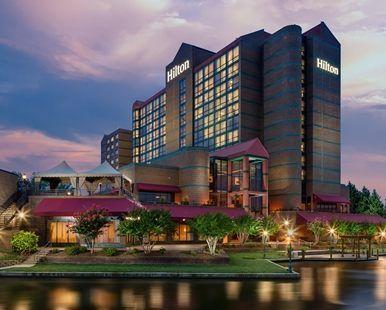 Hilton Charlotte University Place Hotel, NC - Hotel Exterior | NC 28262