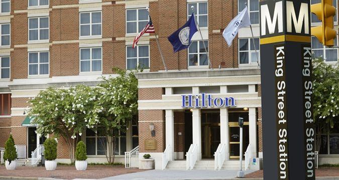 Hilton Alexandria Old Town Hotel, VA - Metro