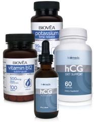 Con questo pacchetto gli forniamo tutti i supplementi che essenziali avrete bisogno di per il piano dell'Attivatrici HCG di BioMedX®