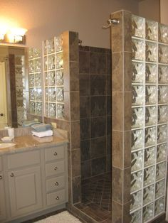 Bathroom Showers Without Glass Google Search Dream Home Showers Pinterest Drywall Walk