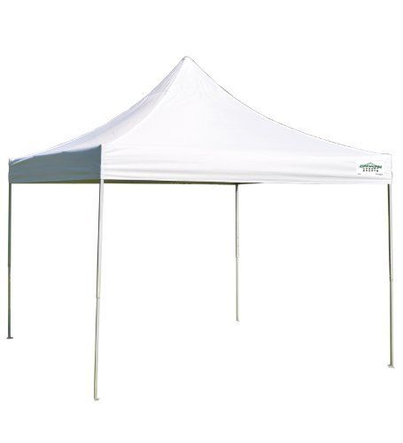 Caravan Global Sports M-Series Pro Instant Canopy, 12 by 12-Feet, White by Caravan Global Sports. $134.99. Steel frame with rising truss style roof for increased stability Pull pin sliders. Silver powder coated steel frame. Includes frame, top, stake kit, and roller bag. Straight leg design for maximum shade coverage; provides 144 square feet of shade. Top provides UV protection from the sun's harmful rays. The M-Series Pro 12'x12' is the ideal combination of strength and portab...