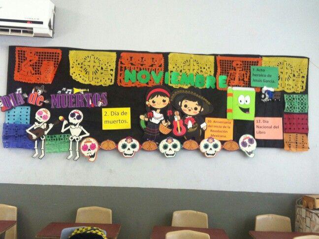 M s de 1000 ideas sobre periodico mural noviembre en for Como elaborar un periodico mural escolar