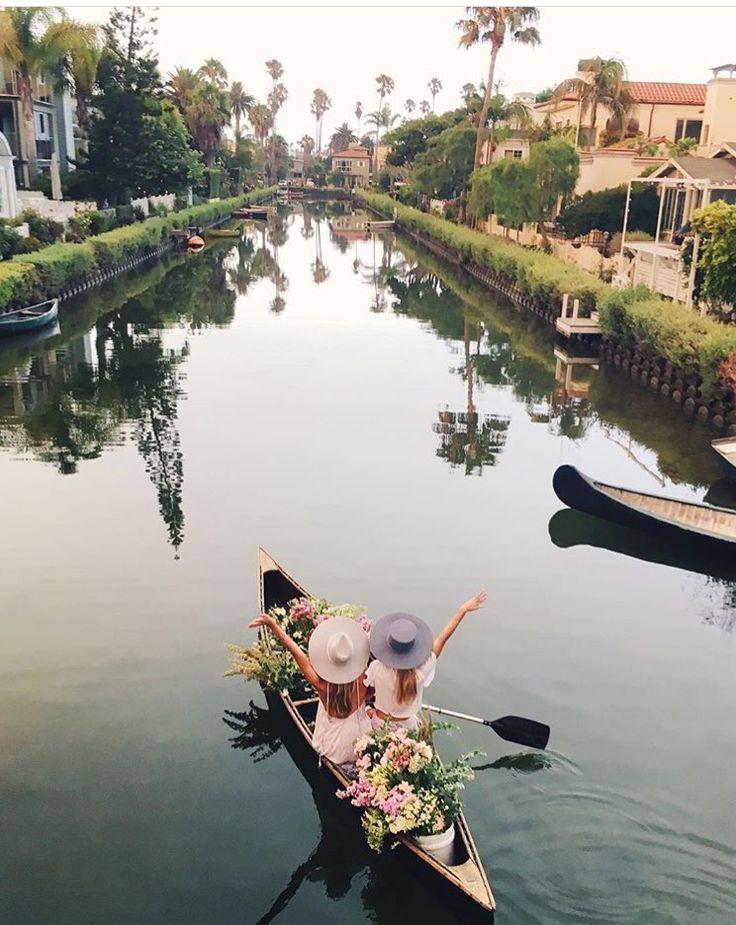 P I N T E R E S T ✨ http://www.pinterest.com/melodye10/ Venice Canal in CA