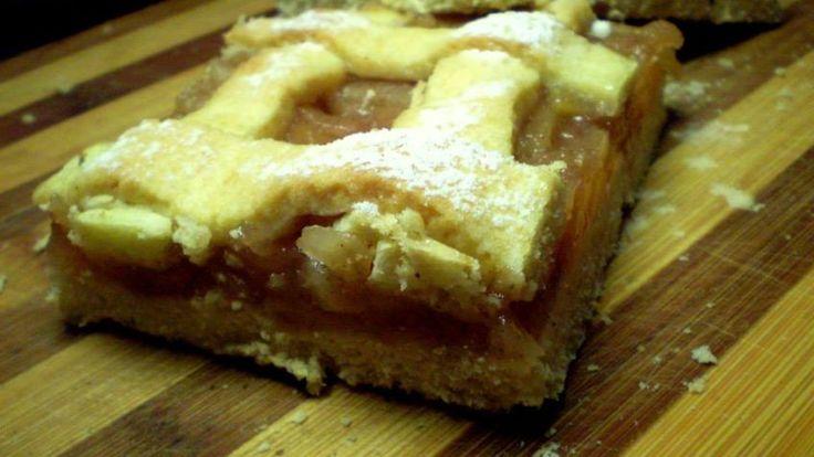Jablečný mřížkový koláč