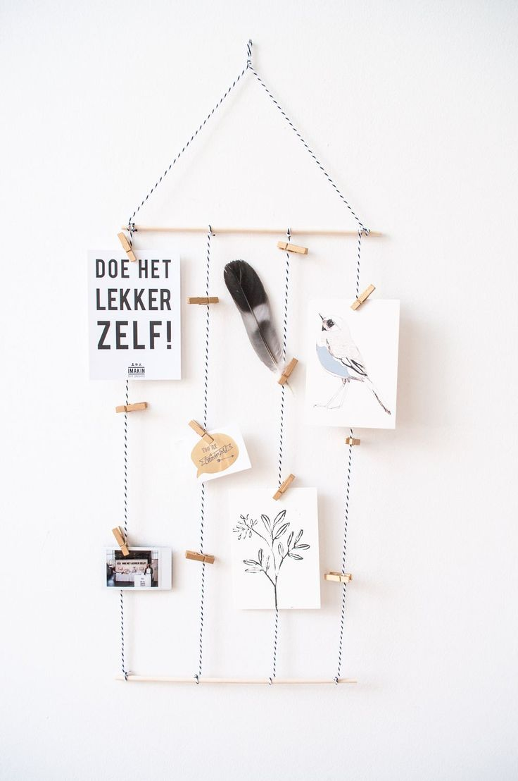 DIY-pakket Kaartenhanger | IMAKIN DIY DESIGN